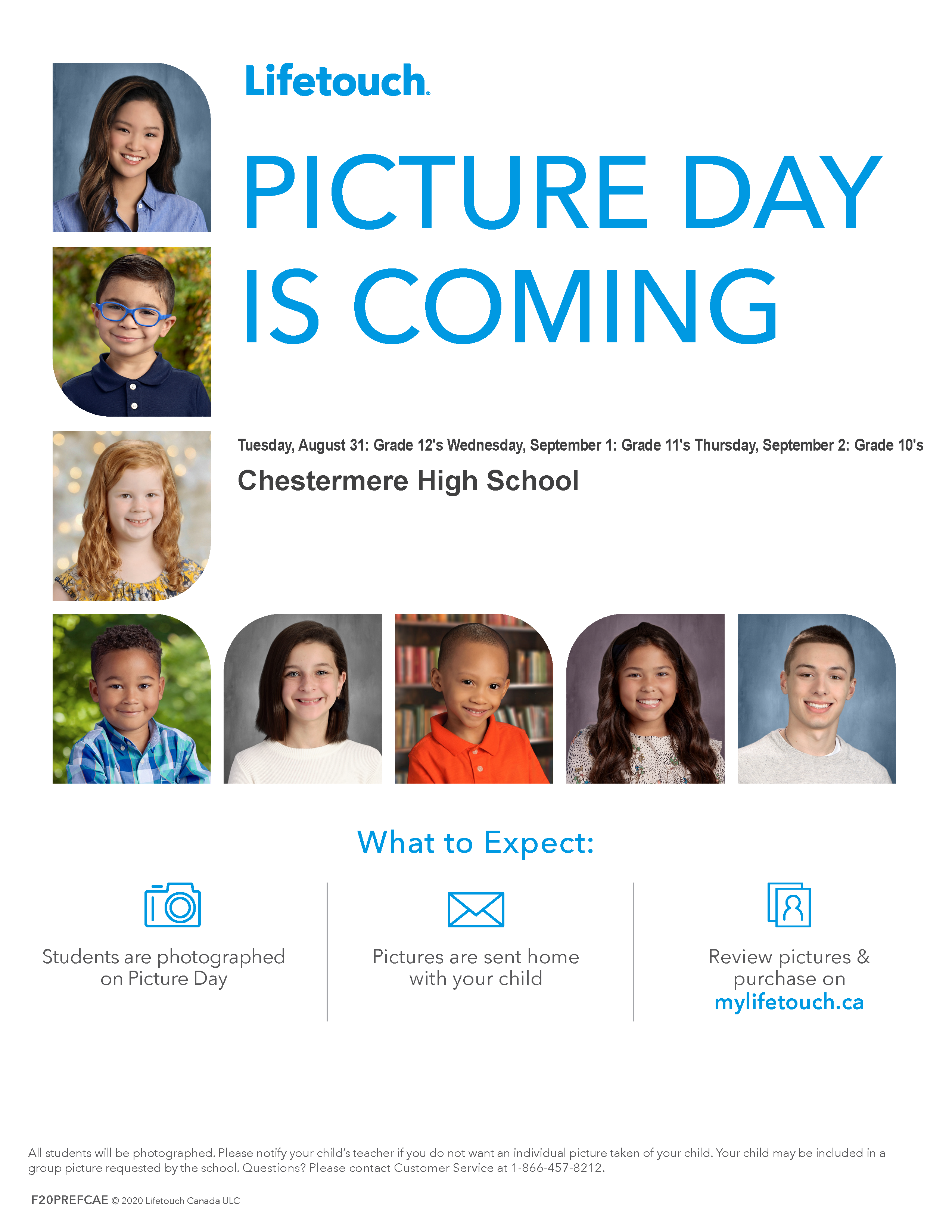 Flyer Picture Day 2021 - 2022